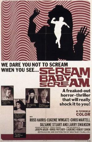 Scream, Baby, Scream - Movie Poster (thumbnail)