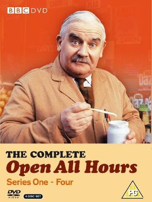 """Open All Hours"" - British DVD movie cover (thumbnail)"