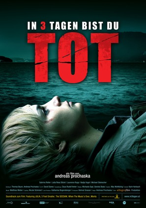 In 3 Tagen bist du tot - German Movie Poster (thumbnail)