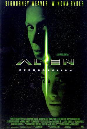Alien: Resurrection - Movie Poster (thumbnail)