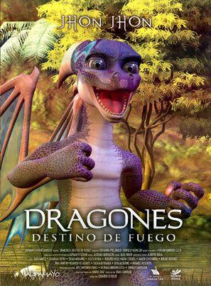 Dragones: destino de fuego - Mexican Movie Poster (thumbnail)