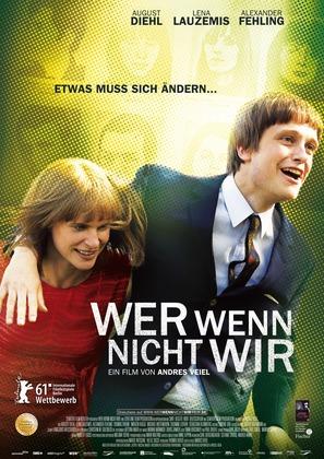 Wer wenn nicht wir - German Movie Poster (thumbnail)