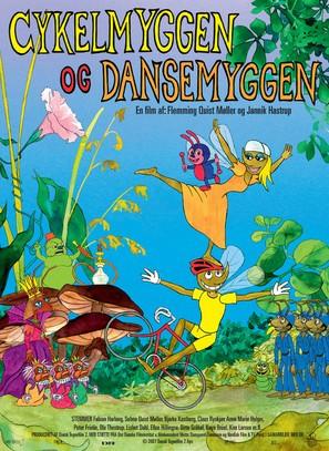 Cykelmyggen og dansemyggen - Danish Movie Poster (thumbnail)