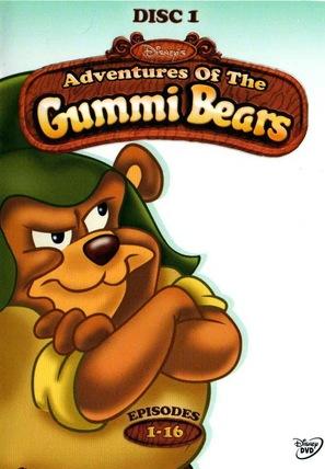 """The Gummi Bears"" - DVD movie cover (thumbnail)"