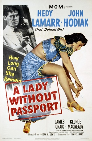 A Lady Without Passport - Movie Poster (thumbnail)