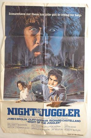 Night of the Juggler - Movie Poster (thumbnail)