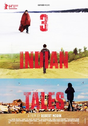 3 histoires d'Indiens - Canadian Movie Poster (thumbnail)