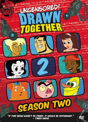 """""""Drawn Together"""" - DVD movie cover (thumbnail)"""