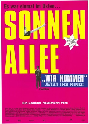 Sonnenallee - German Movie Poster (thumbnail)