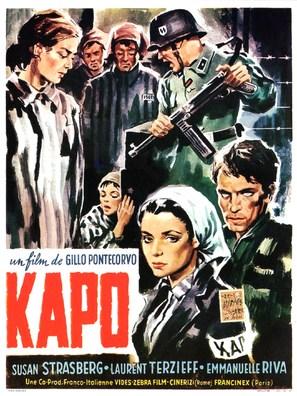 Kapò - Belgian Movie Poster (thumbnail)