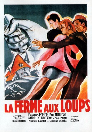 La ferme aux loups - French Movie Poster (thumbnail)