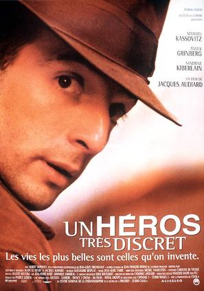 Un hèros trés discret - French Movie Poster (thumbnail)
