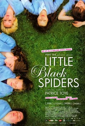 Little black spiders - Dutch Movie Poster (thumbnail)