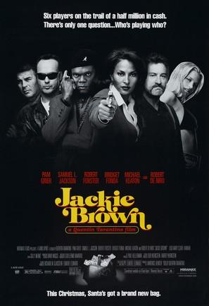 Jackie Brown - Movie Poster (thumbnail)