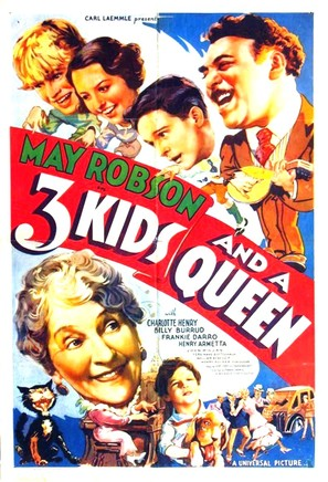 Three Kids and a Queen - Movie Poster (thumbnail)