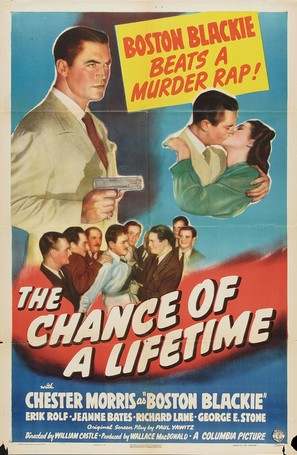 The Chance of a Lifetime - Movie Poster (thumbnail)