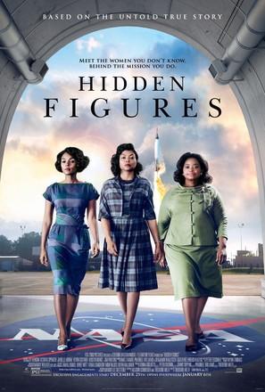 Hidden Figures - Movie Poster (thumbnail)