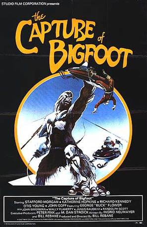 The Capture of Bigfoot - Movie Poster (thumbnail)
