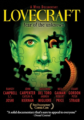 Lovecraft: Fear of the Unknown - Movie Cover (thumbnail)