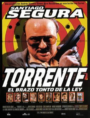Torrente, el brazo tonto de la ley - Spanish Movie Poster (thumbnail)