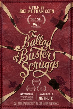 The Ballad of Buster Scruggs - Movie Poster (thumbnail)