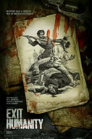 Exit Humanity - Canadian Movie Poster (thumbnail)