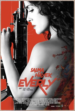 Everly - Movie Poster (thumbnail)