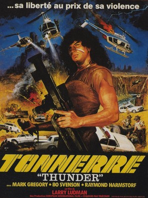 Thunder - French Movie Poster (thumbnail)