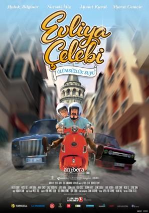Evliya Çelebi ve Ölümsüzlük Suyu - Turkish Movie Poster (thumbnail)