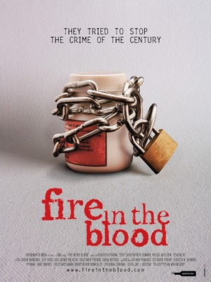 Fire in the Blood - Indian Movie Poster (thumbnail)