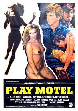 Play Motel - Italian Movie Poster (thumbnail)