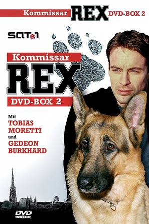 """Kommissar Rex"" - German DVD cover (thumbnail)"