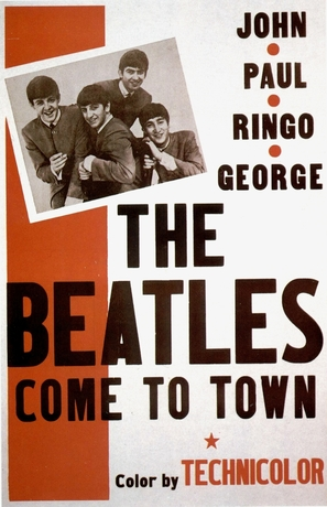 The Beatles Come to Town - British Movie Poster (thumbnail)