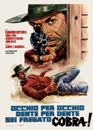 El sabor de la venganza - Italian Movie Poster (thumbnail)
