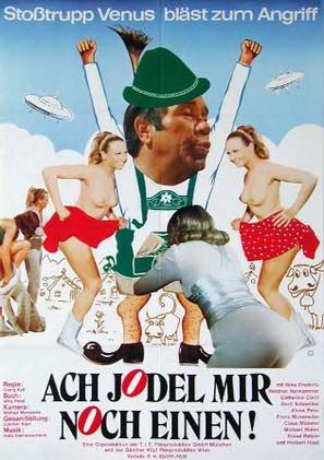 Ach jodel mir noch einen - Stosstrupp Venus bläst zum Angriff - German Movie Poster (thumbnail)