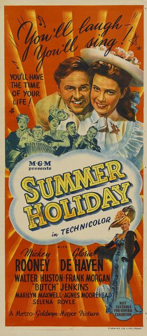 Summer Holiday - Australian Movie Poster (thumbnail)