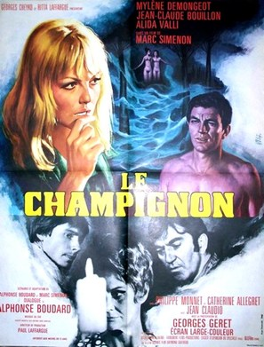 Le champignon - French Movie Poster (thumbnail)