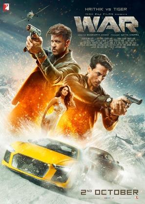 War - Indian Movie Poster (thumbnail)
