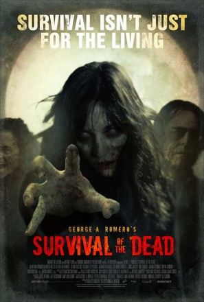 Survival of the Dead - Theatrical movie poster (thumbnail)