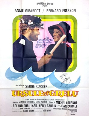 Ursule et Grelu - French Movie Poster (thumbnail)
