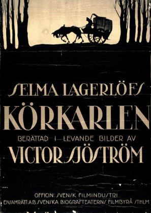 Körkarlen - Swedish Movie Poster (thumbnail)