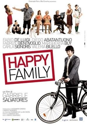 Happy Family - Italian Movie Poster (thumbnail)