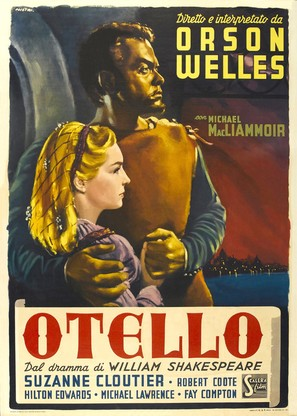 The Tragedy of Othello: The Moor of Venice - Italian Movie Poster (thumbnail)