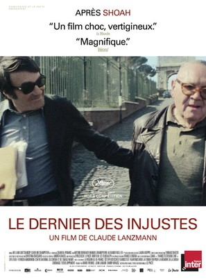 Le dernier des injustes - French Movie Poster (thumbnail)