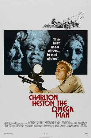 The Omega Man - Theatrical movie poster (thumbnail)