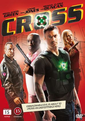 Cross - Danish DVD movie cover (thumbnail)