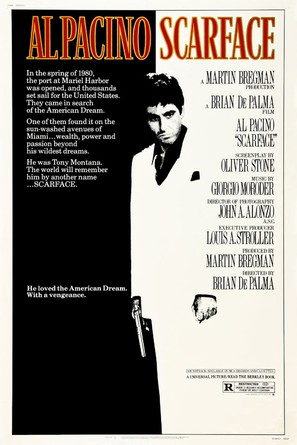 Scarface - Movie Poster (thumbnail)