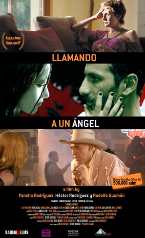Llamando a un ángel - Mexican Movie Poster (thumbnail)