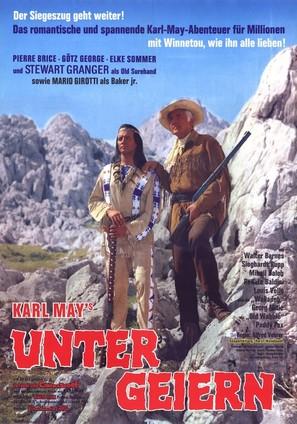 Unter Geiern - German Movie Poster (thumbnail)