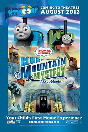 Thomas & Friends: Blue Mountain Mystery - Movie Poster (thumbnail)